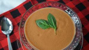 Recipe for Thick and Creamy Tomato Basil Soup